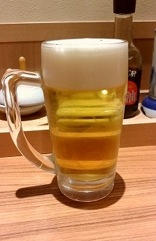やよい軒生ビール370円