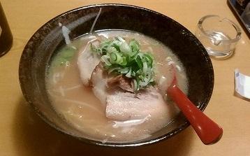 豚骨醤油ラーメン天祥650円20160225