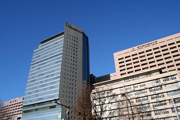 お茶の水 東京医科歯科大学 校舎 病院