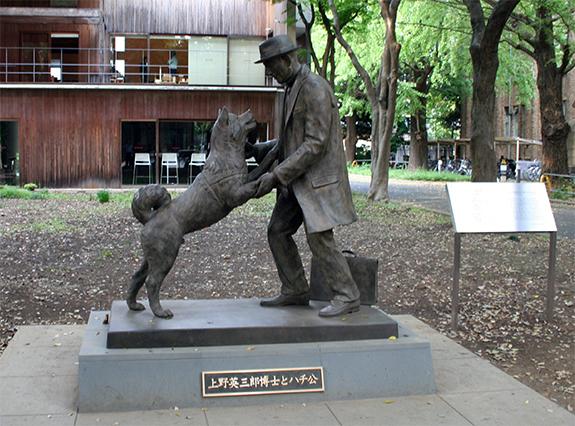 東京大学 忠犬ハチ公 上野英三郎博士