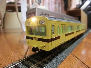 エンドウ 秩父鉄道クハ1200(導入時塗装)③