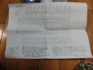 KTM 特急用シングルクロスシート(座席色:青) 取扱い説明書