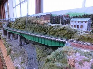 飯田線をイメージした鉄橋