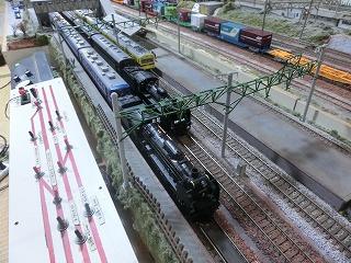 飯田線頭端部の駅に並ぶSL列車たち
