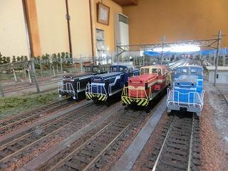 臨海鉄道等のDLの並び