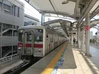 普通浅草行き(4+2の6連) 東京スカイツリー駅出発
