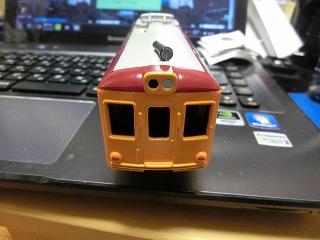 一応完成した「銚子電鉄デハ1001」