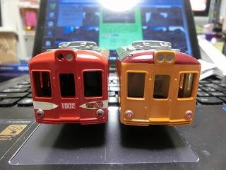 銚子電鉄デハ1002&デハ1001