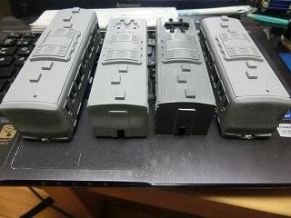 「西武鉄道 6157F」の製作を開始したボディー&前面