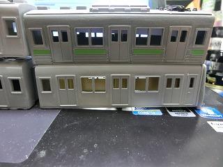 「西武鉄道 6157F」の製作を開始したボディー&前面③