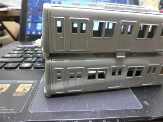 「西武鉄道 6157F」の製作を開始したボディー&前面⑤
