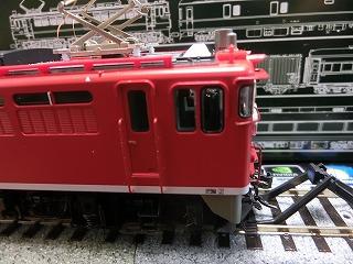 フジモデル製「塗手すり」を取付けた「KATO EF65-1118」