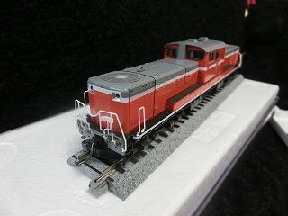 TOMIX HO-205 パーツ取付前のJR DD51-1000形(暖地形)