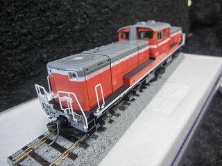 TOMIX HO-205 パーツ取付前のJR DD51-1000形(暖地形)②