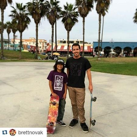 with Brett