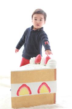 りゅうきくん2歳記念群馬伊勢崎ケーキ