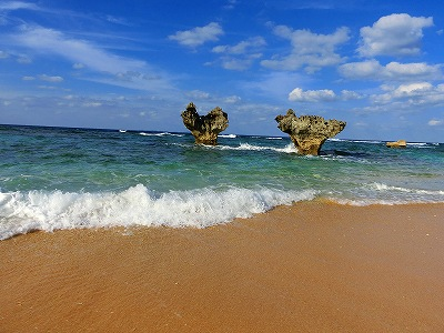 ハートの岩2