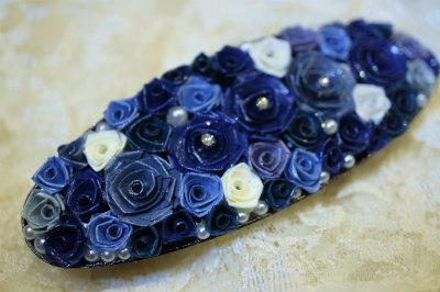 ロザバレッタ青い花束