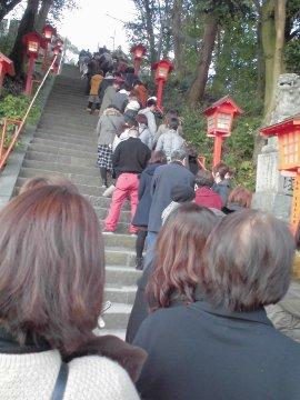 蒲生神社へ初詣3
