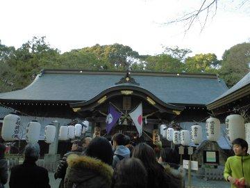 蒲生神社へ初詣4