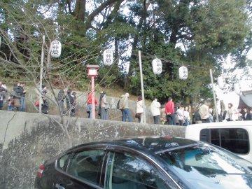 蒲生神社へ初詣6