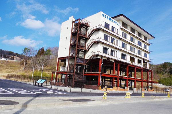 震災遺構のたろう観光ホテル