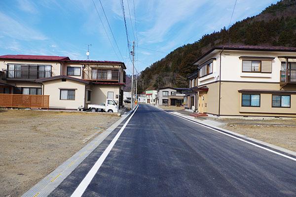 岩泉町小本の復興住宅