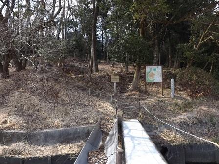 13伊勢の城めぐりの旅(保々西城入口)