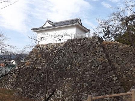 19伊勢の城めぐりの旅(亀山城本丸多門櫓)