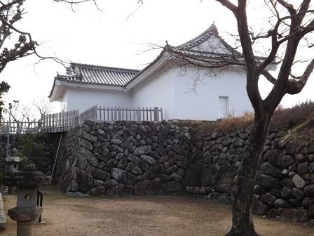 20伊勢の城めぐりの旅(亀山城本丸多門櫓2)