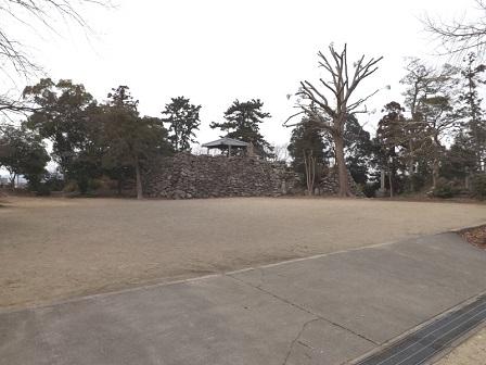 35伊勢の城めぐりの旅(神戸城跡本丸)
