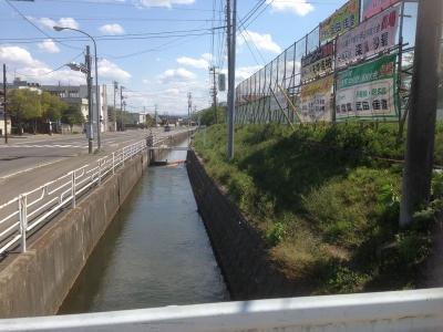 堀跡の水路2
