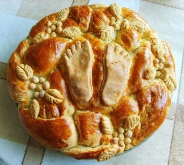 ロシアの出産祝いのパン2
