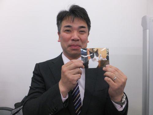 鴻巣市会議員芝嵜和好先生 500DSCF1447