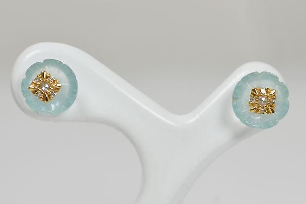 アクアマリン花カービング彫刻ルースR1529a.jpg