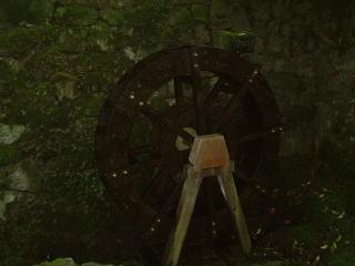 石山寺水車