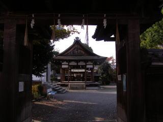 和田神社表門