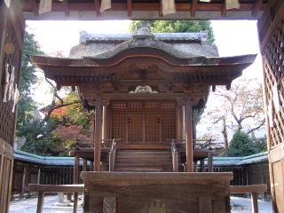 和田神社本殿