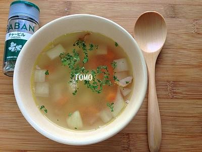 GABANチャービル de 白いんげん豆のスープ