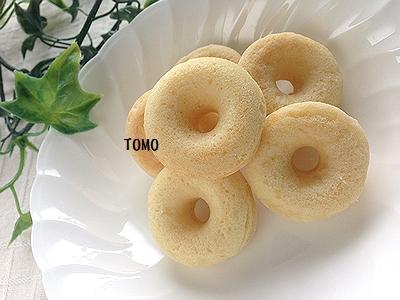 モチモチノンオイル焼きドーナッツ