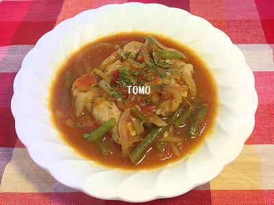 高野豆腐のトマト煮3