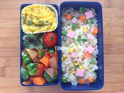 冷凍食品を使って簡単お弁当♪
