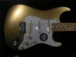 fender usa fsr american standard stratocaster mystic aztec gold body front 2