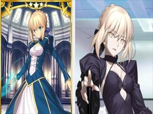 【画像】Fateのセイバーことアルトリアさん、もはや別人になる
