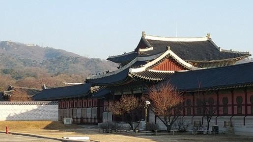 景福宮の空