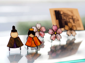 竹内_カードスタンド_雛・桜