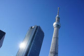東京walk0204スカイツリー