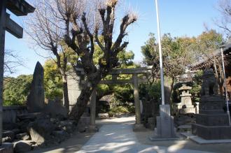 東京walk0303牛嶋神社