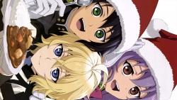 a 336778 christmas hiiragi_shinoa hyakuya_mikaela hyakuya_yuuichirou igawa_rena owari_no_seraph uniform