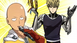 a 336856 genos male one_punch_man saitama toda_mai